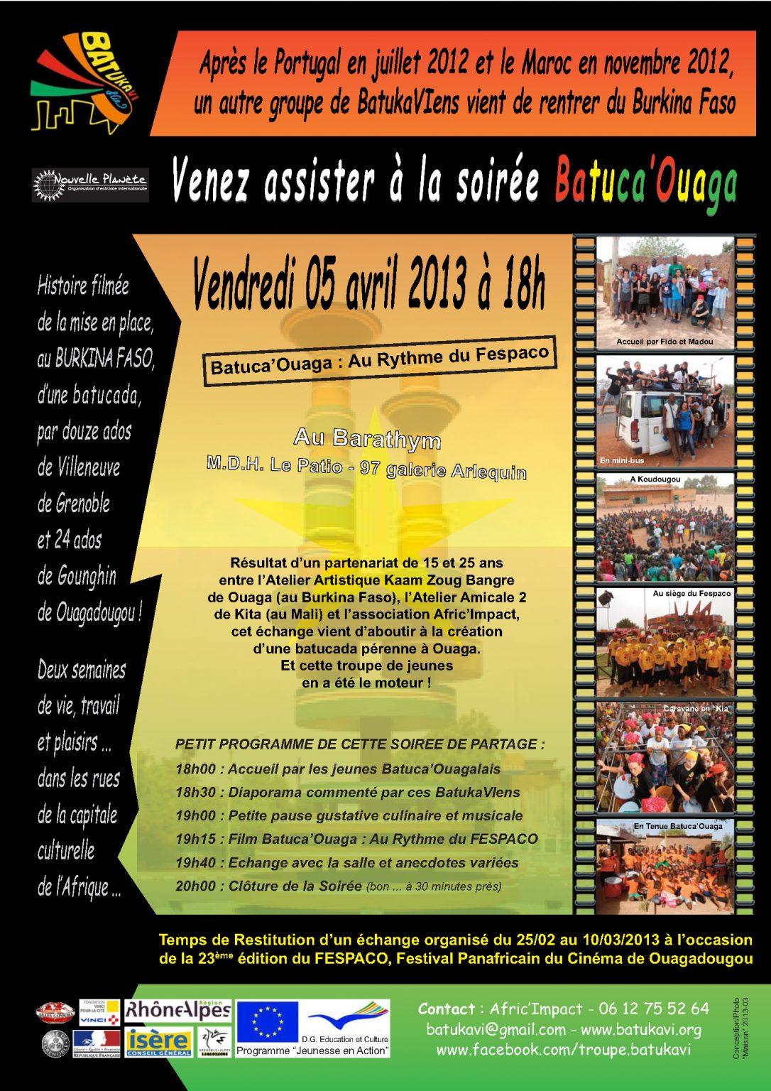 2013-04 Soirée Batuca'Ouaga
