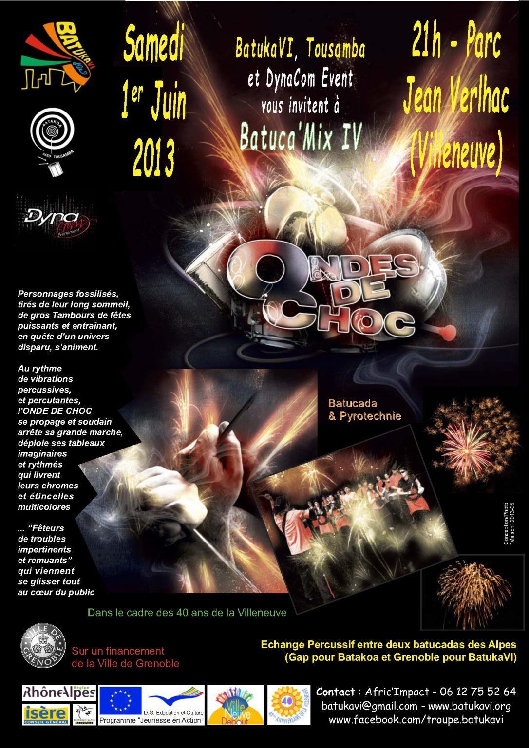 2013-06-01 Batuca'Mix IV - Ondes de Choc