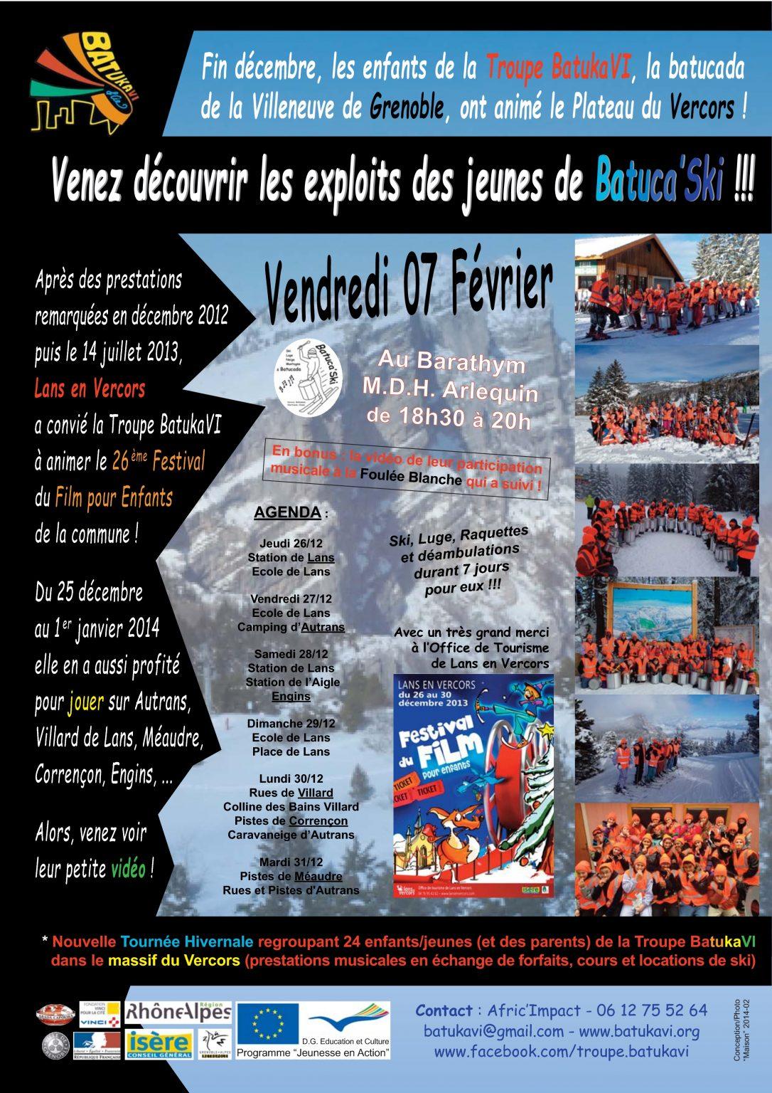 2014-02 Soirée Batuca'Ski I