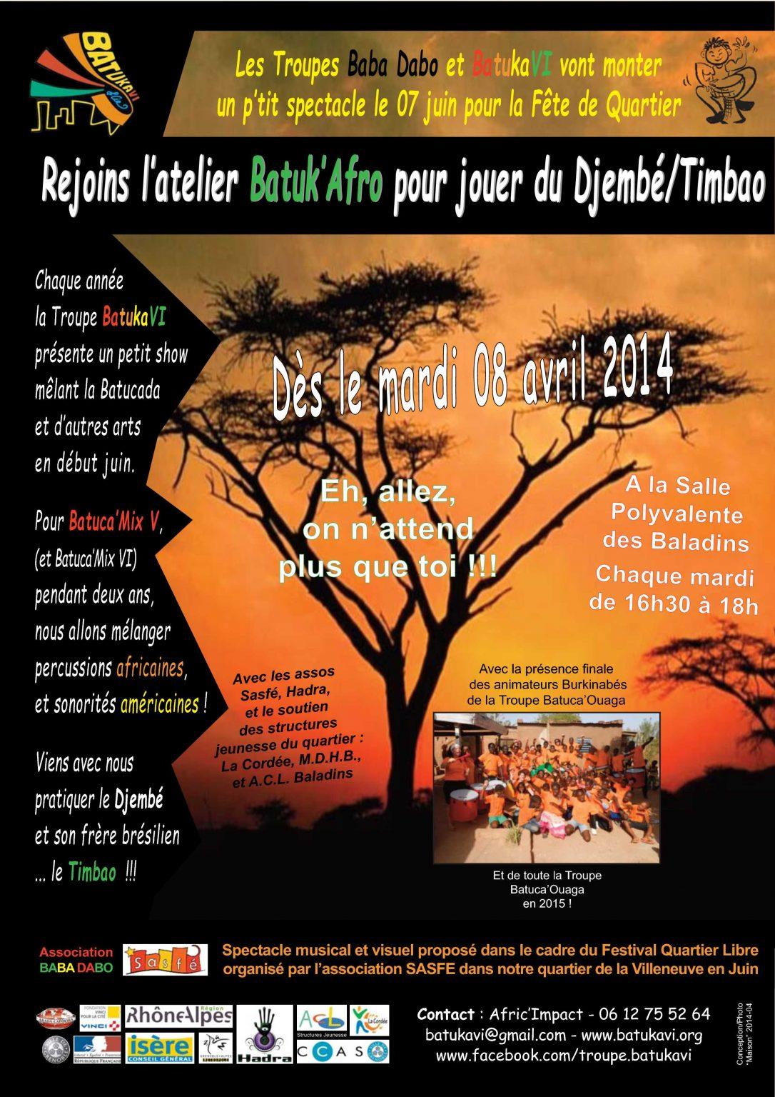 2014-04 Atelier Batuk'Afro
