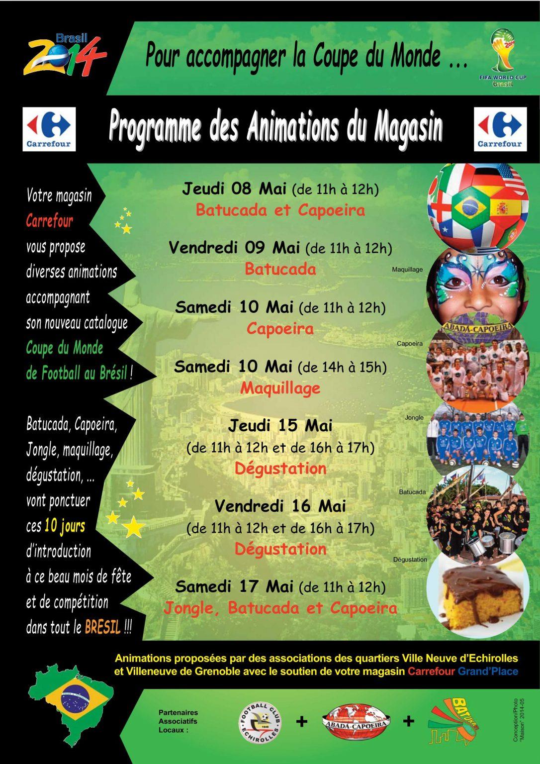 2014-05 Partenariat Carrefour-Batuca'Rio (Programme)