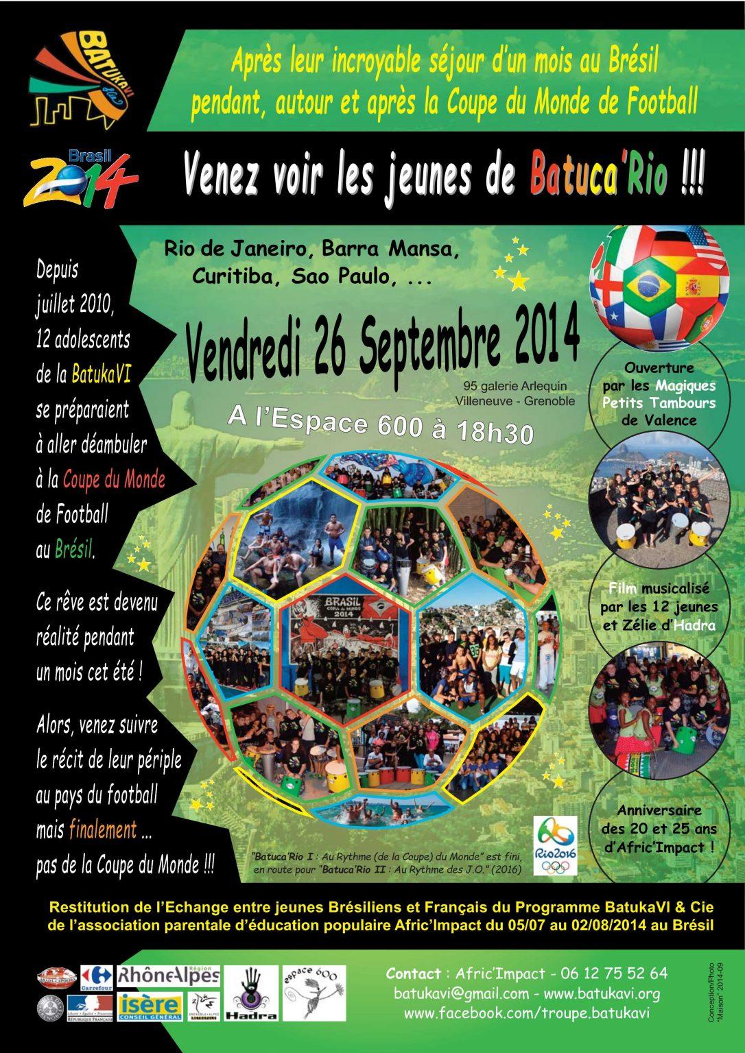 2014-09 Soirée Batuca'Rio I