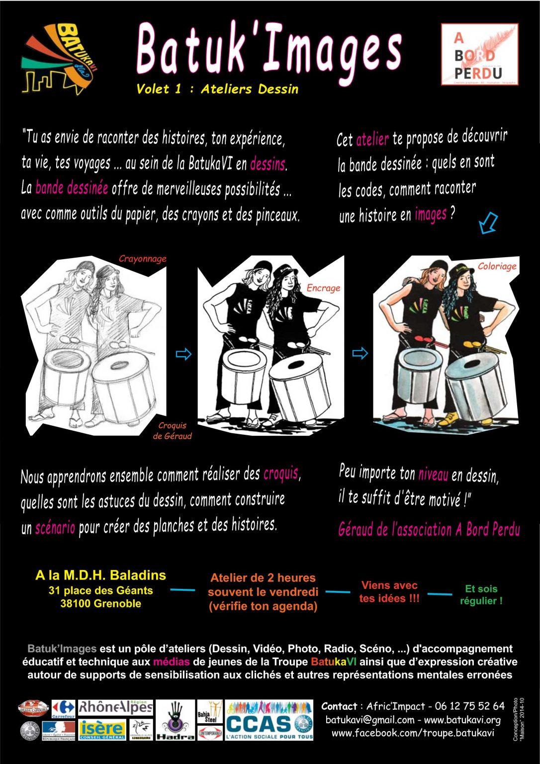 2014-10 Pôle Images - Volet 1 Ateliers Dessin
