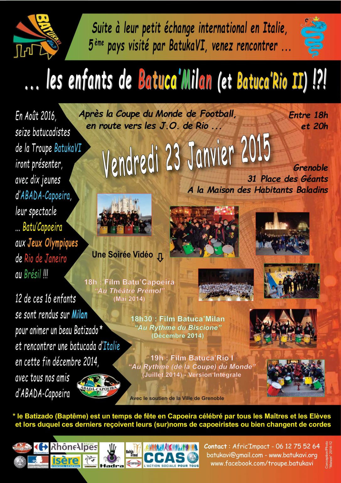 2015-01 Soirée Batuca'Milan
