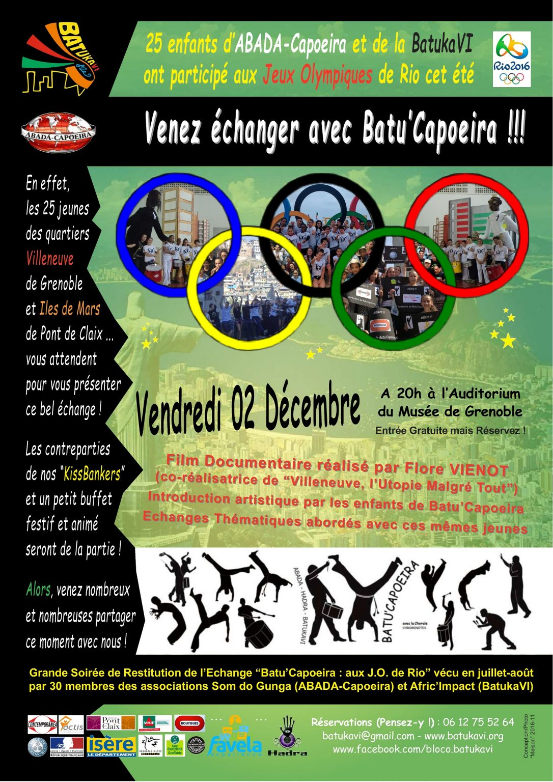 2016-12-02 Batu'Capoeira - Soirée de Restitution