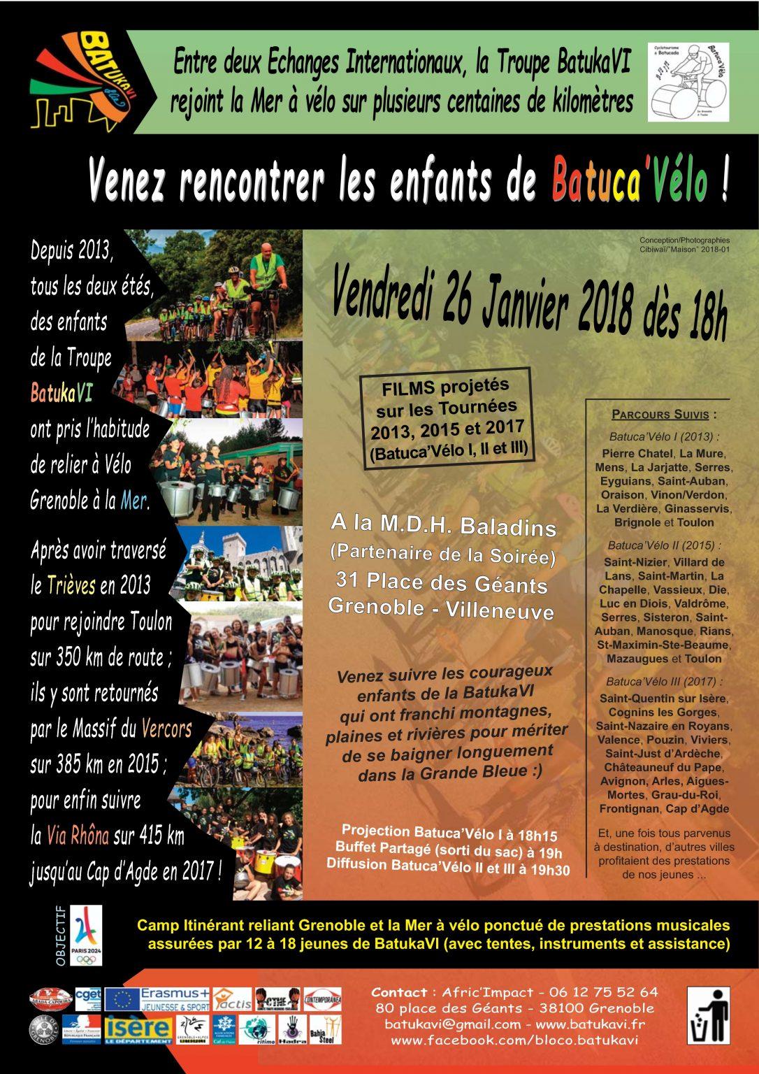 2018-01 Soirée Tournée Estivale Batuca'Vélo III (et II)