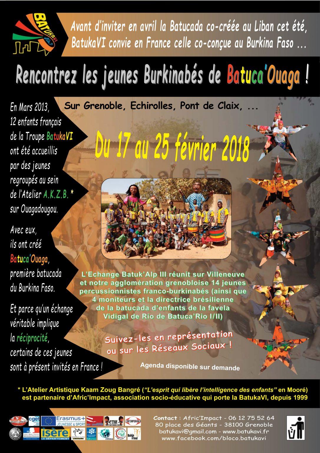 2018-02 Echange Batuk'Alp III - Les Ouagalais