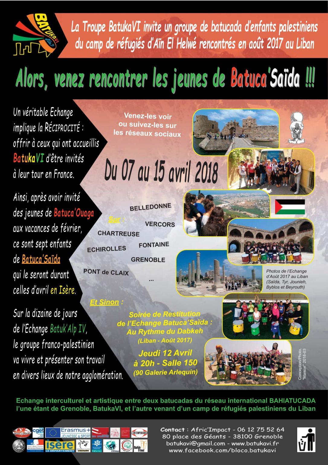 2018-04 Echange Batuk'Alp IV - Les Palestiniens