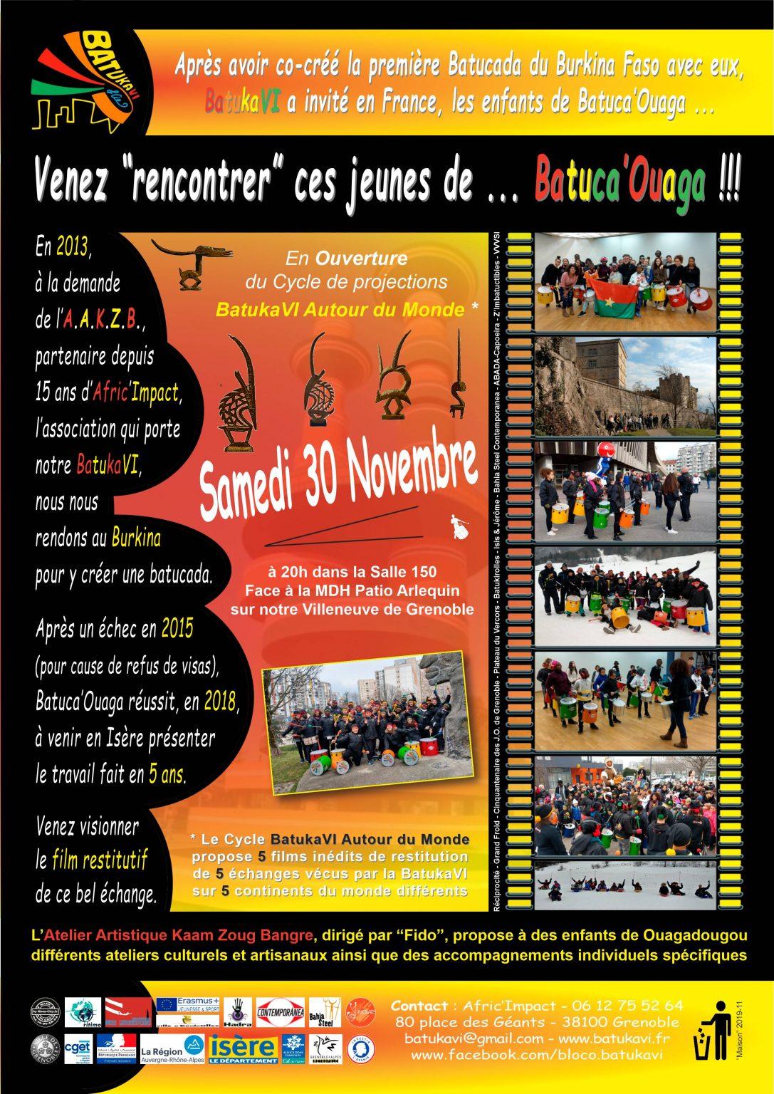 2019-11-30 Soirée Batuk'Alp VI - Les Ouagalais 1