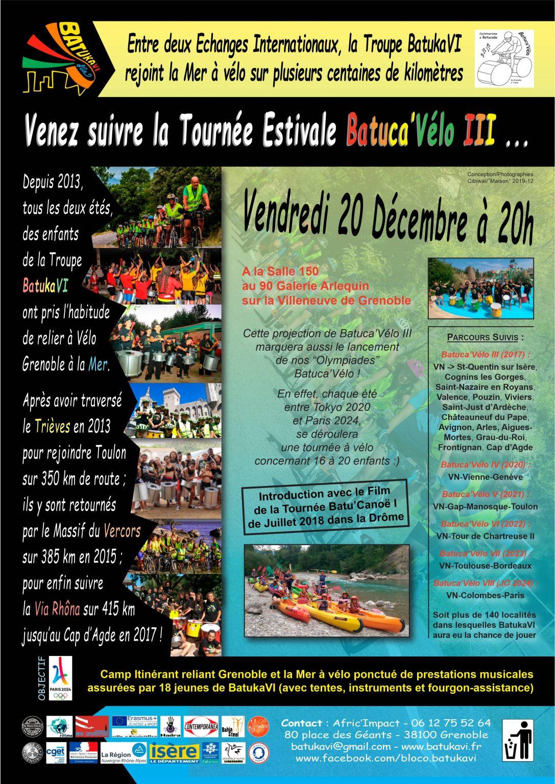 2019-12-20 Soirée Batuca'Vélo III - Batu'Canoë