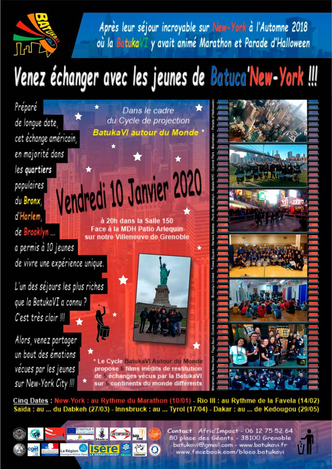 2020-01-10 Soirée Batuca'New-York