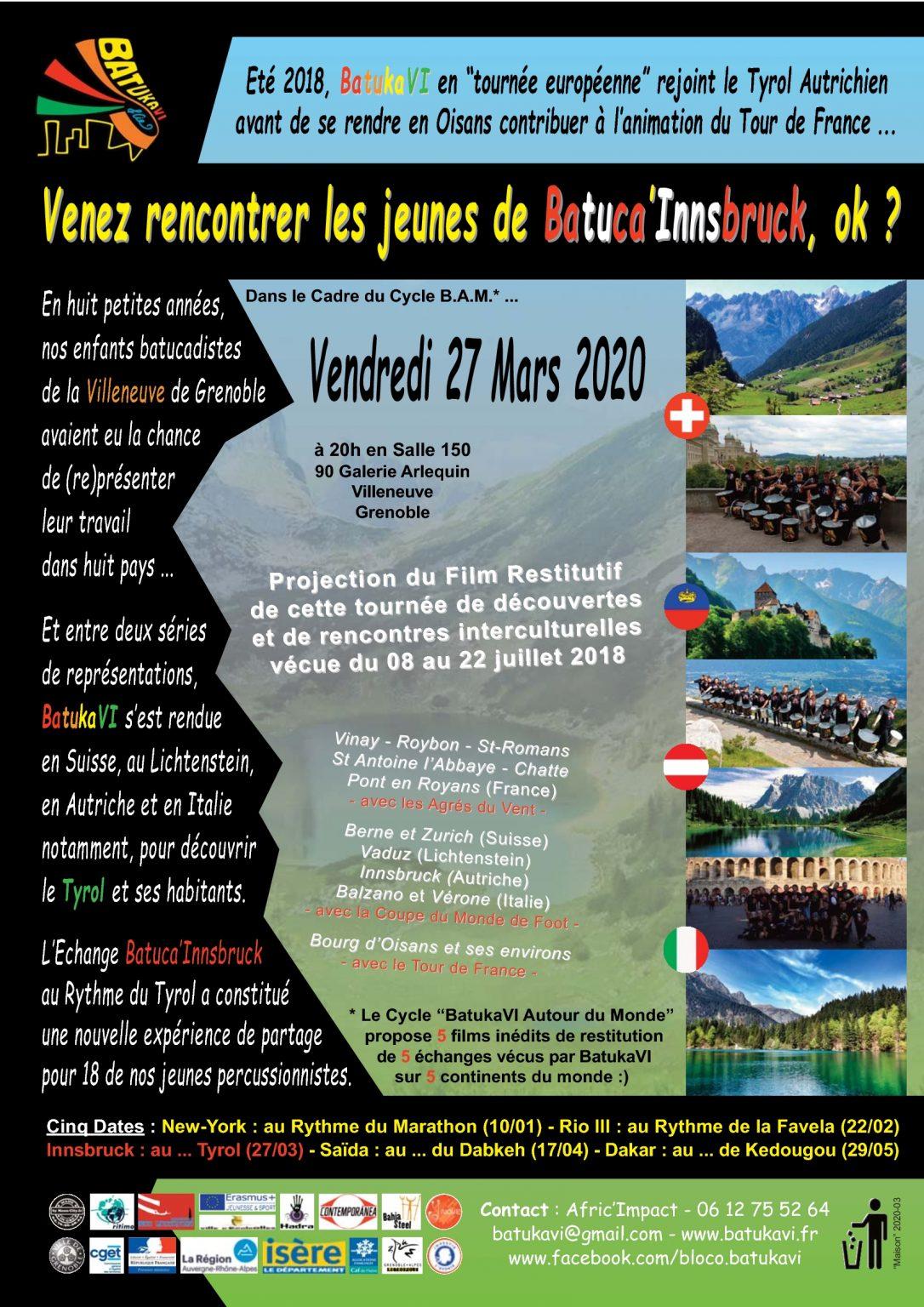 2020-03 Soirée Batuca'Innsbruck