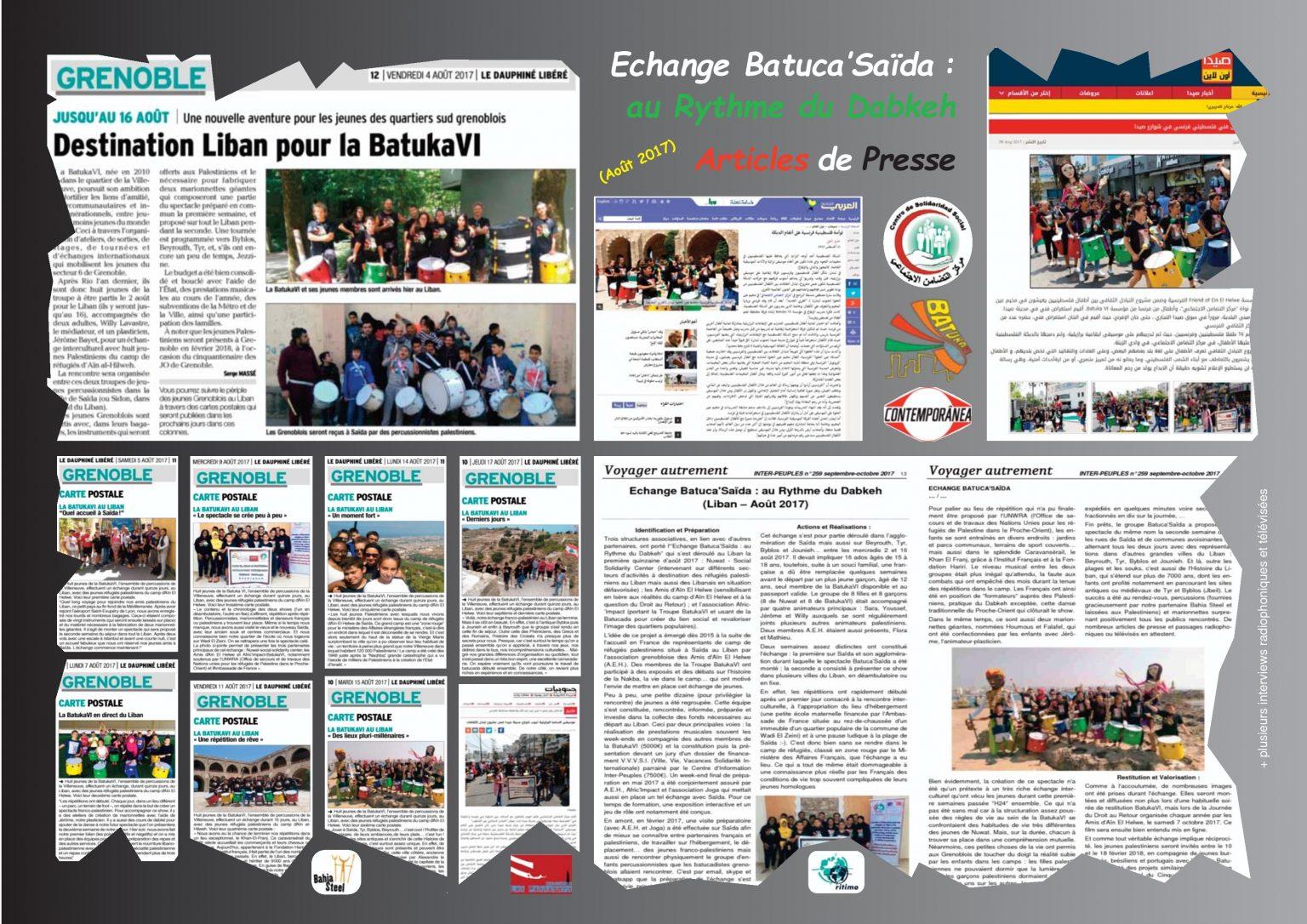 BatukaVI - Panneau Articles 2017-08 Echange Batuca'Saïda (Réduit)