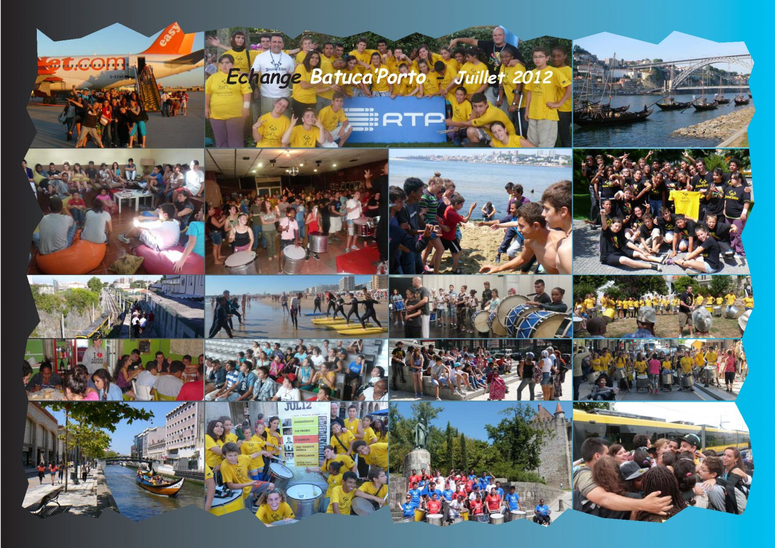 BatukaVI - Panneau Photos 2012-07 Echange Batuca'Porto (Réduit)