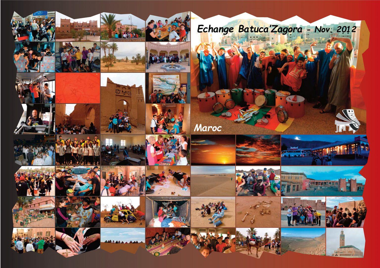 BatukaVI - Panneau Photos 2012-11 Echange Batuca'Zagora (Réduit)