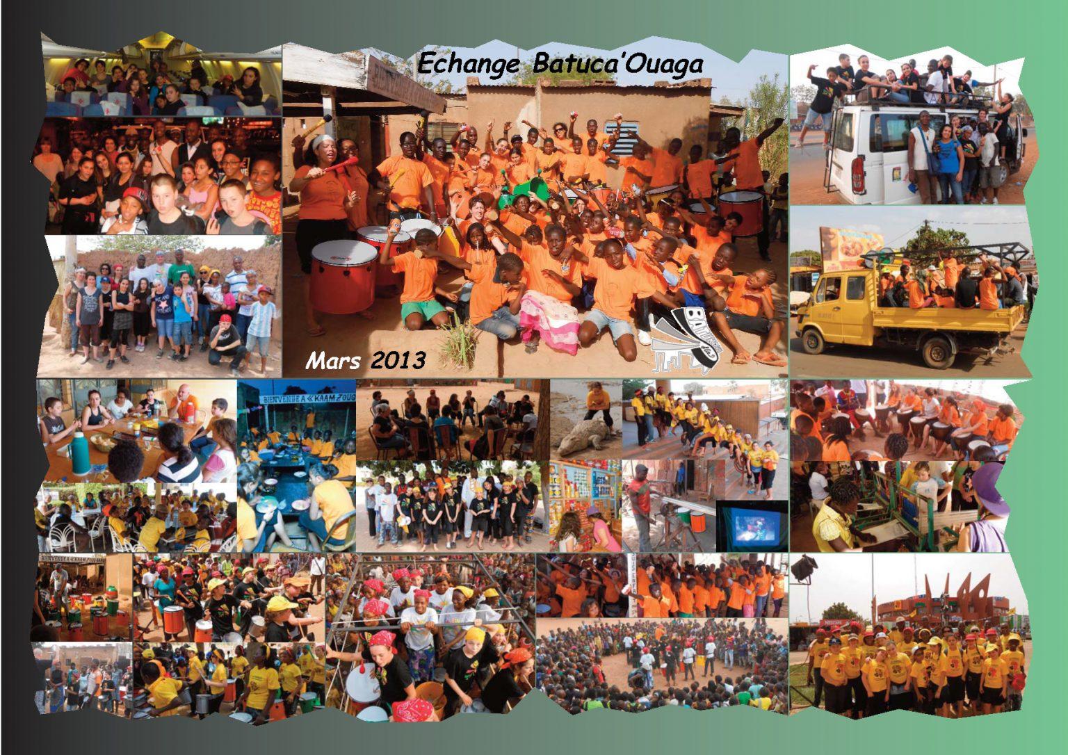 BatukaVI - Panneau Photos 2013-03 Echange Batuca'Ouaga (Réduit)