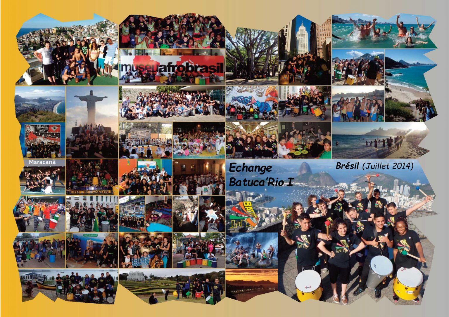 BatukaVI - Panneau Photos 2014-07 Echange Batuca'Rio I (Réduit)