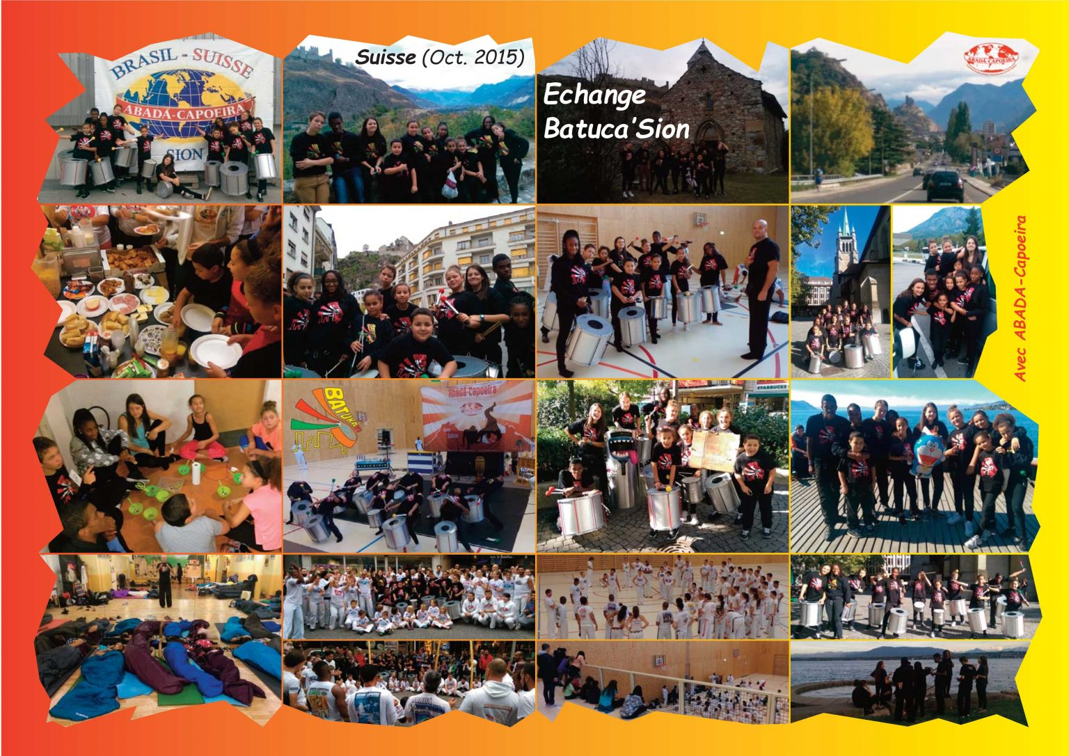 BatukaVI - Panneau Photos 2015-10 Echange Batuca'Sion (Réduit)