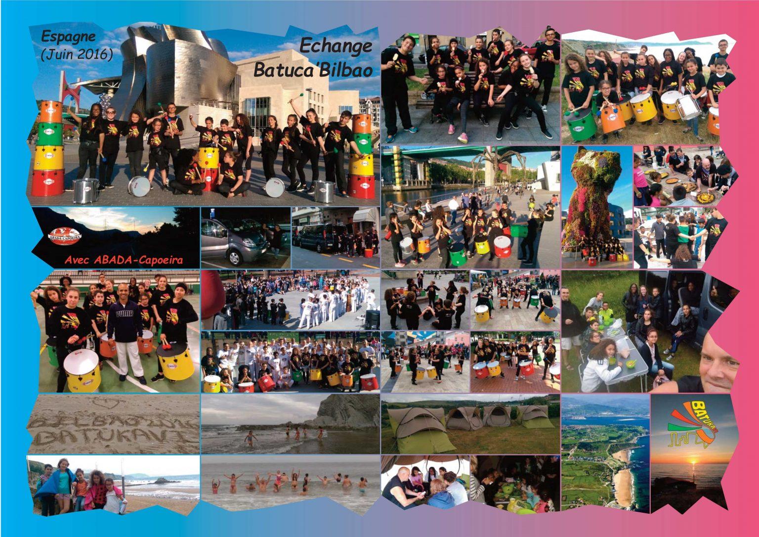 BatukaVI - Panneau Photos 2016-06 Echange Batuca'Bilbao (Réduit)